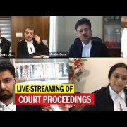 Bhatt & Joshi Associates, High Court Lawyers, High Court Advocates, NCLT Lawyers - Gujarat High Court begins live-streaming