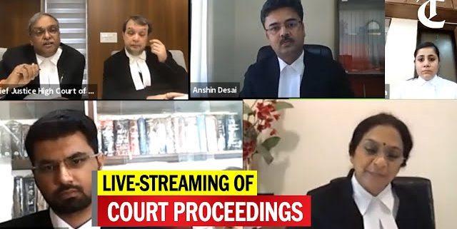 Bhatt & Joshi Associates, High Court Lawyers, High Court Advocates, NCLT Lawyers - Gujarat High Court begins live-streaming